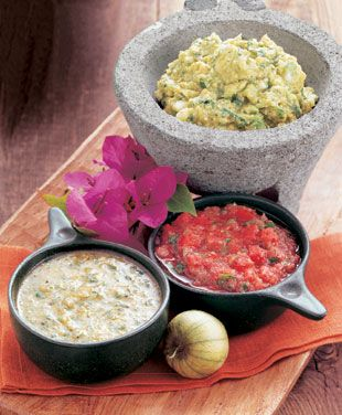 Guacamole with Roasted Tomatillos | Recipe | Guacamole
