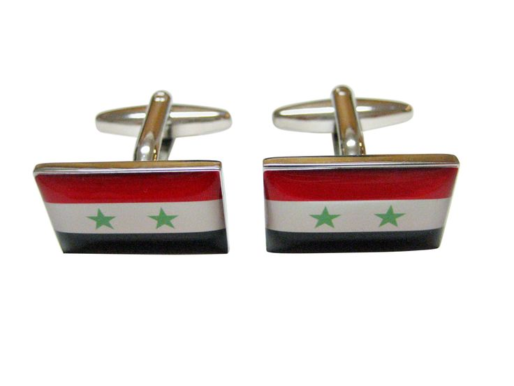 Syria Flag Cufflinks
