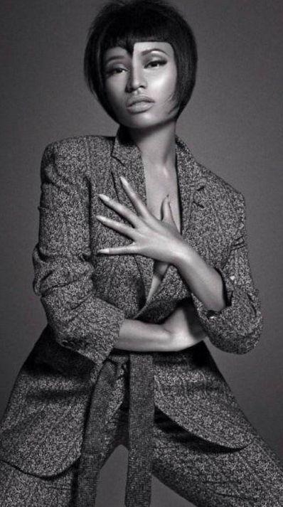 "Nicki Minaj Stars in the Latest Issue of Men's Fashion Magazine ""L'Uomo Vogue"" | Complex"