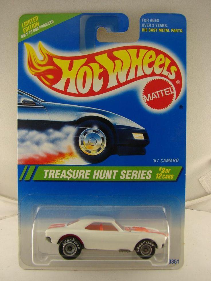 hot wheels 1995 treasure hunt 3 of 12 39 67 camaro hot. Black Bedroom Furniture Sets. Home Design Ideas