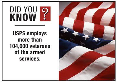 #USPS #Veterans