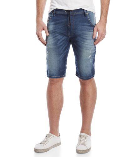 415cccdd48d DIESEL-Jogg-Jeans-Men-Distressed-Stretch-Jogger-Denim-Sweatpants-Shorts- Pants