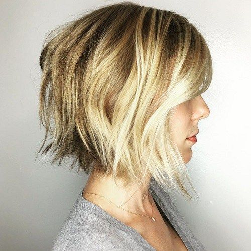 Choppy Balayage Bob                                                                                                                                                                                 More