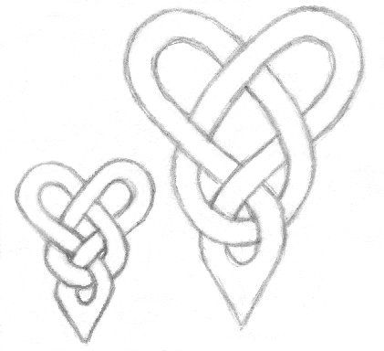 Love Knot Tattoo Drawings | Tattoobite.com