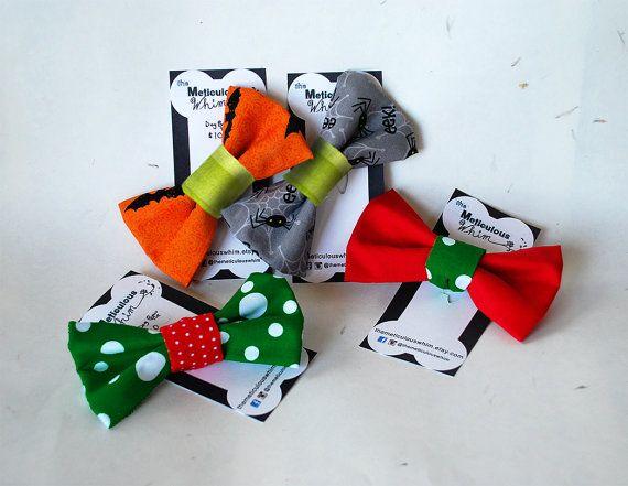 SALE Dog Bow Tie  Dog Bowties  Dog Collar Bow Tie