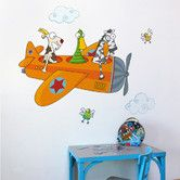 Found it at Wayfair - Ludo Friends in Flight Wall Decal