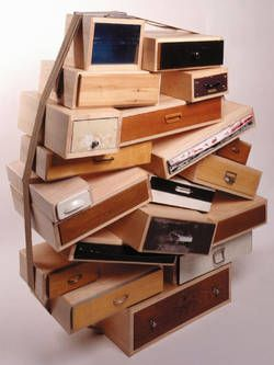Chest of Drawers - You Can't Lay Down Your Memory - Tejo Remydroog design