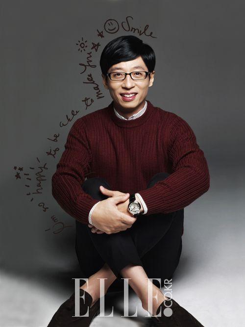 Yoo Jae Suk (유재석) - RM Member, MC Nation, Comedian
