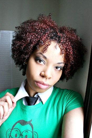Denys // 3C Natural Hair Style Icon   Black Girl with Long Hair