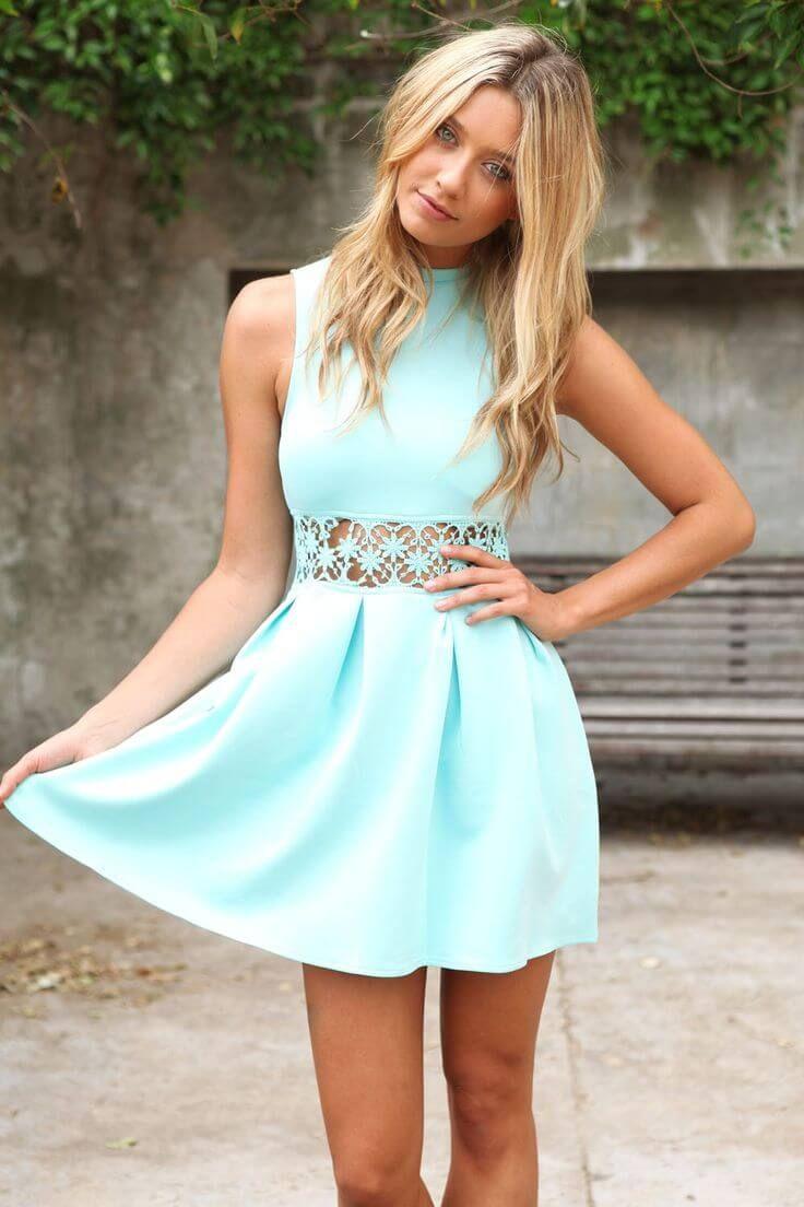 summer outfit ideas 9   mint summer dresses, cute dresses