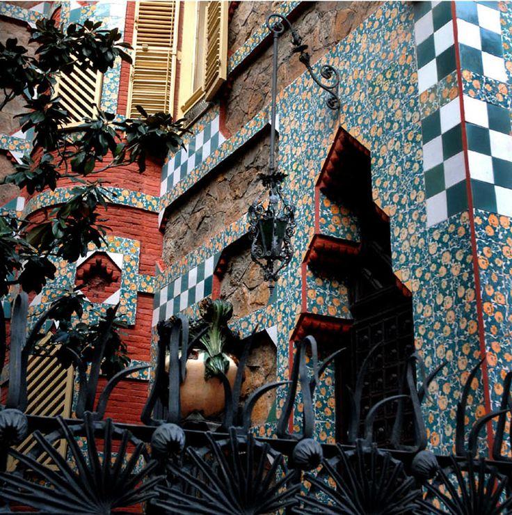 Casa Vicens Barcelona.Antoni Gaudi