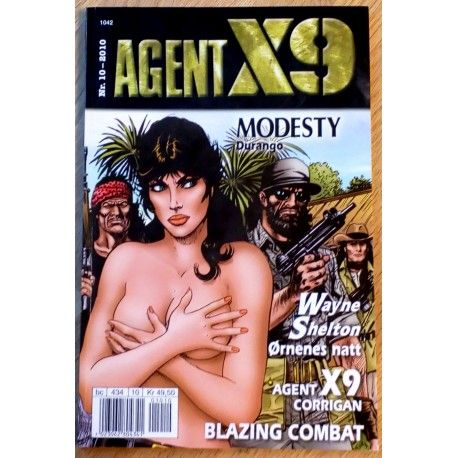 Agent X9: 2010 - Nr. 10 - Durango