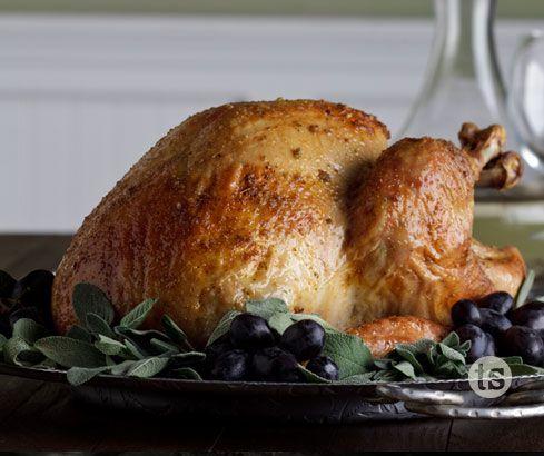 Garlic Butter Basted Turkey Recipe