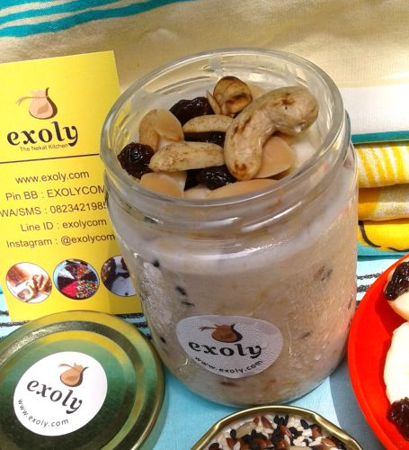 Sarapan Sehat Overnight Oats