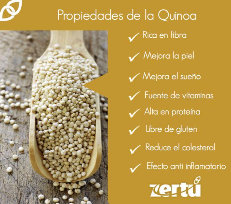 Te recomendamos incluir la #QUINOA en tus alimentos ya que tiene grandes beneficios para el organismo. Estaremos dándote tips y recetas para que puedas disfrutarla al máximo. @zertumx #nutricion #vidasaludable #quinoa #recetas #propiedadesdelaquinoa #zertumx #consejosdesalud