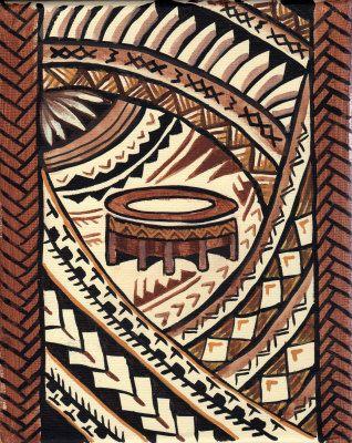 Kava bowl Painting at ArtistRising.com | My favorite Art ...