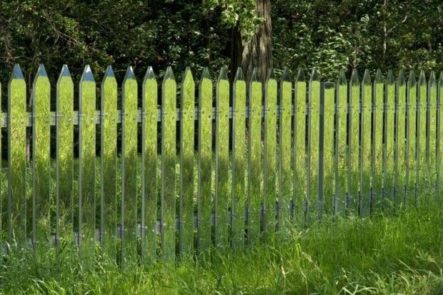 Mirror Fence - Alyson Shotz