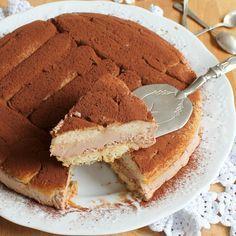 TORTA MASCARPONE E NUTELLA dessert veloce senza cottura