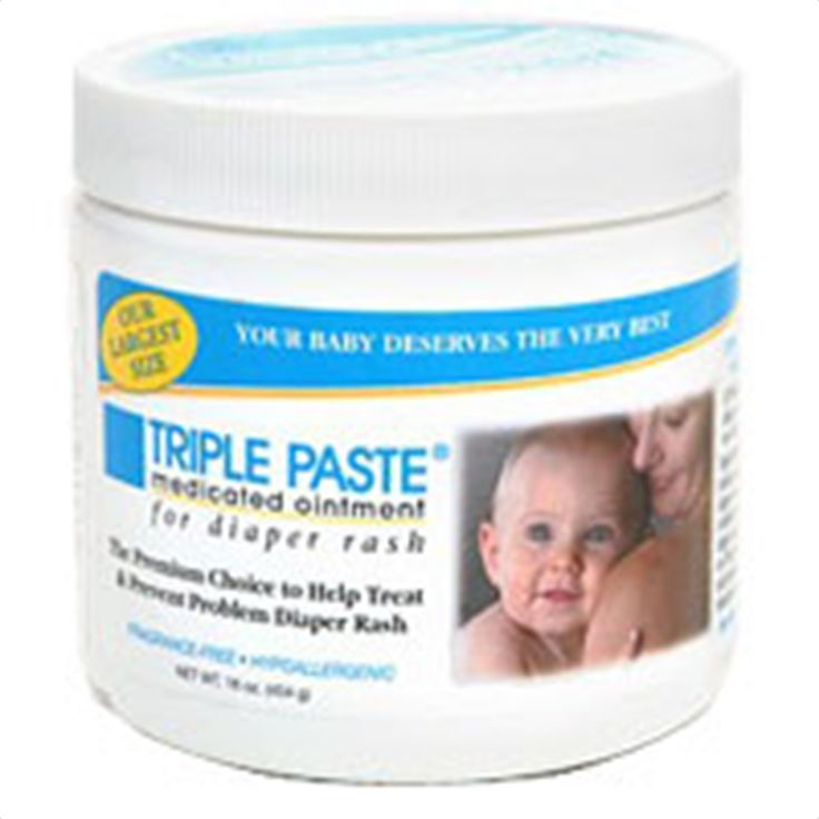 Buy Triple paste medicated ointment for diaper rash, fragrance free, 16 oz | Protects chafed skin due to diaper rash and helps protect from wetness. myotcstore.com - Ezy Shopping, Low Prices & Fast Shipping.
