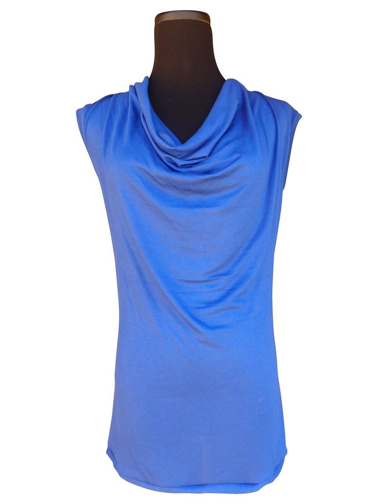 Women'S Royal Blue Blouse 110