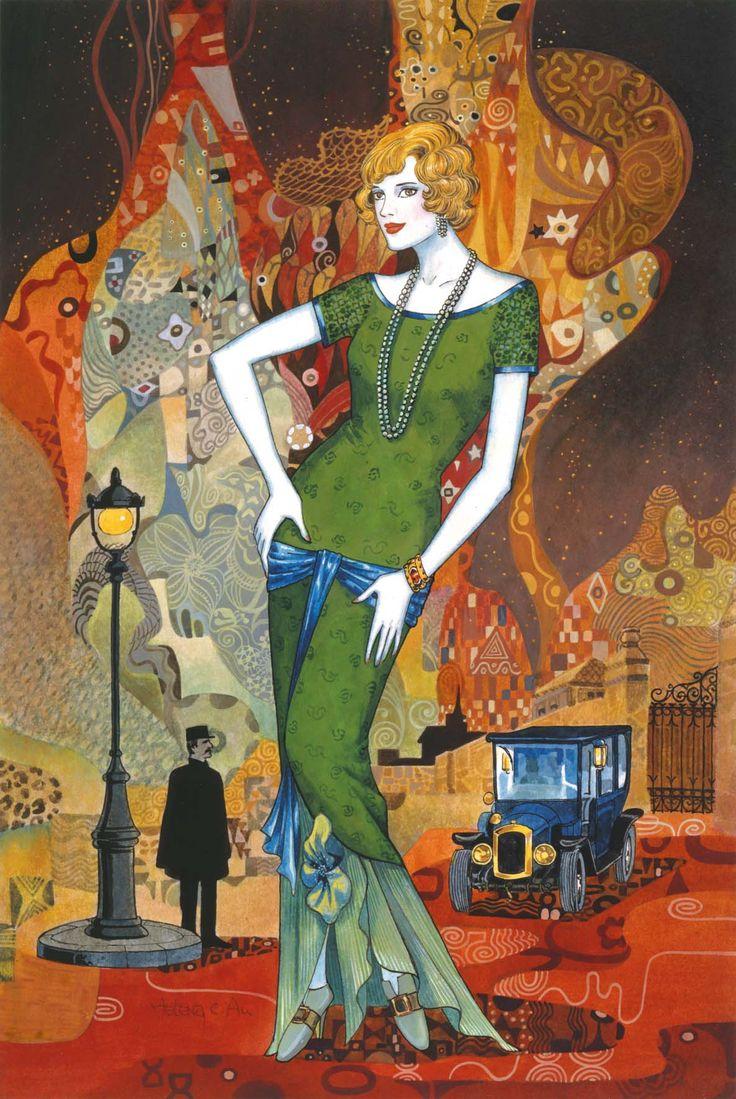 art deco   Art Deco Collection von Clementoni   Puzzle-Blog