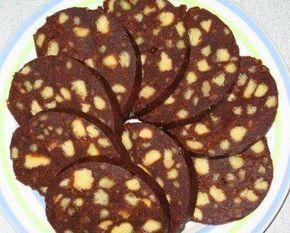 Salam de biscuiti de post,retete culinare de post » retete de post » retete prajituri de post
