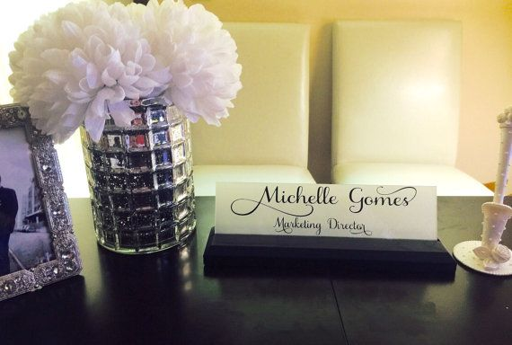 1000 Ideas About Desk Name Plates On Pinterest Name