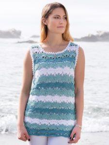 Summer crochet - Wisteria Top Crochet Pattern