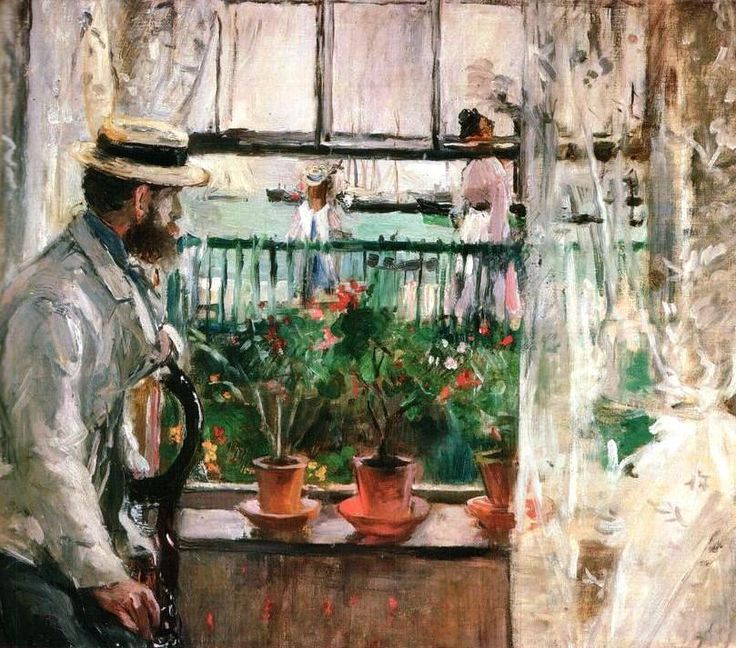 Eugène Manet on the Isle of Wight, 1875 Berthe Morisot (French, 1841-1895)