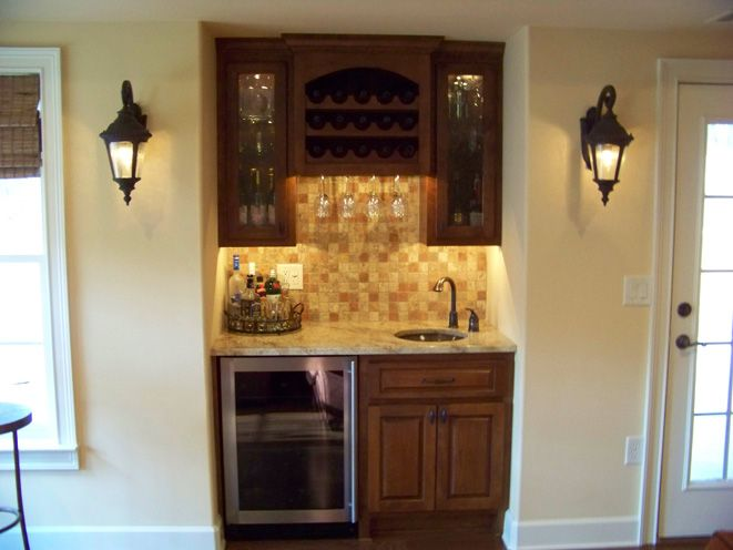 17 best images about dining room buffet on pinterest for Wet bar in living room