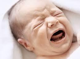 Le stress du bébé qui pleure