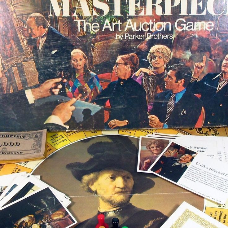 Masterpiece Game Parker Brothers Complete #ParkerBrothers