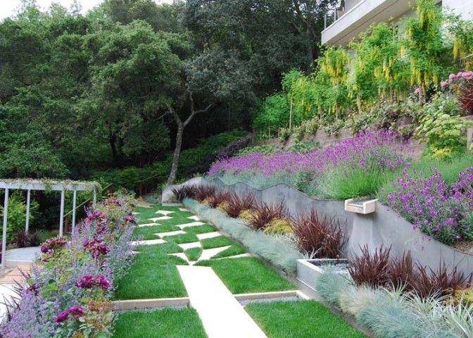 garden designers roundtable favorite gardens harmony in the garden hill gardenlandscape elementslandscape designslandscape - Garden Design On A Hill