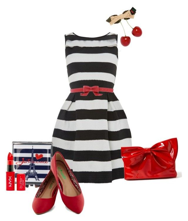 House of Fraser Dress#2 by gloriadeym on Polyvore featuring polyvore, fashion, style, TFNC, Valentino, Love Moschino and clothing