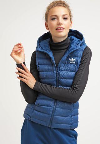 Vesta dama sport Adidas cu gluga