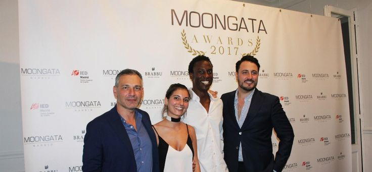 Alfredo Díaz, Celia Terrón, Ini Archibong and José Usero at the Moongata Design Awards 2017 ➤ Discover more luxury lifestyle news at www.covetedition.com @covetedition #covetedmagazine @covetedmagazine #luxurylifestyle #moongata @brabbu @iedmadrid