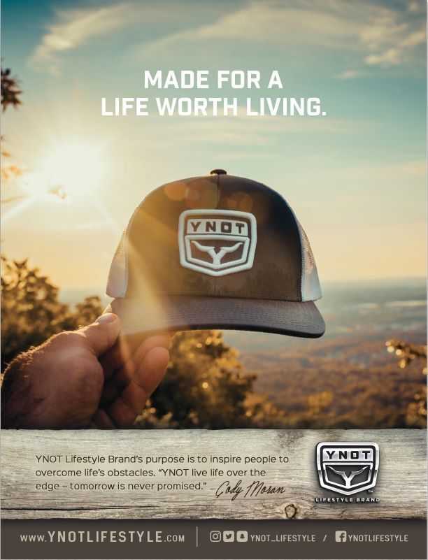 Made For A Life Worth Living Lifestyle Branding Outdoor Wear Cap Design