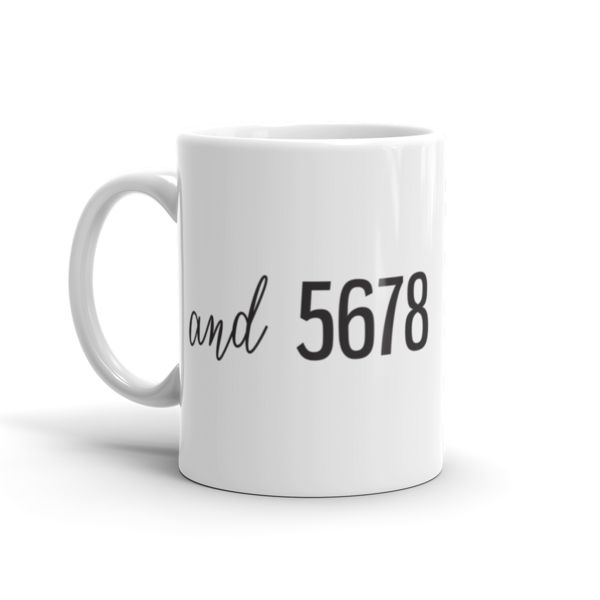 and 5678 Mug! Perfect to start any dancer's day!