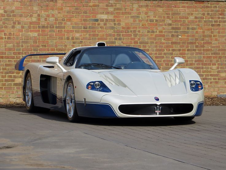 Romans are very proud to offer this 2006 Maserati MC12 for sale presented in Bianco Fuji & Blu Victory with Blue Leather Interior. With just 1 of 50 cars built worldwide, it's one of the rarest modern hypercars in existence and without doubt a future classic which has to be considered a fantastic investment opportunity. This phenomenal ultra low mileage example is physical and available for immediate sale here at Romans International.
