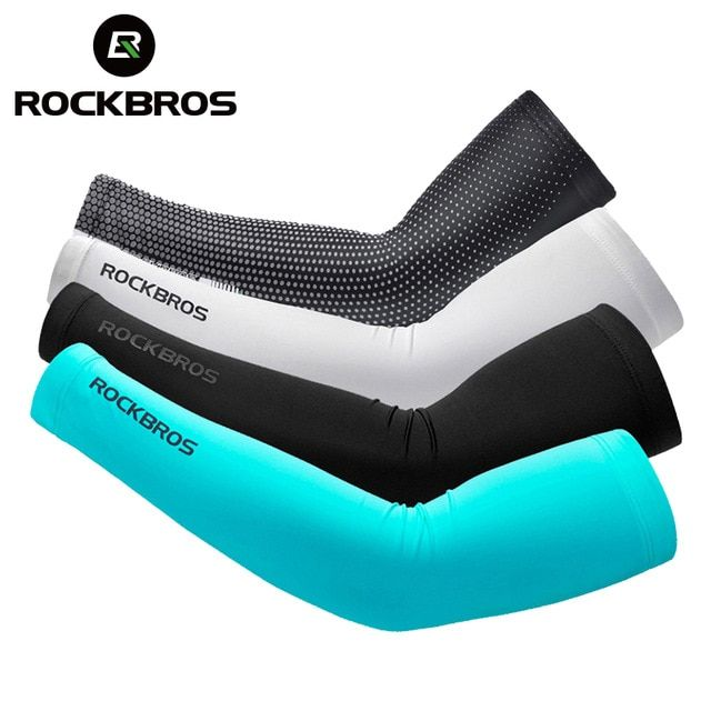Running Back To Search Resultssports & Entertainment Ice Fabric Arm Sleeves Mangas Warmers Summer Sports Uv Protection Running Cycling Driving Reflective Sunscreen Bands