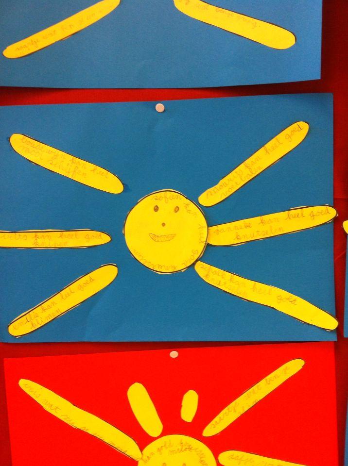 Complimenten zon