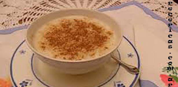 Receta arroz con leche para microondas