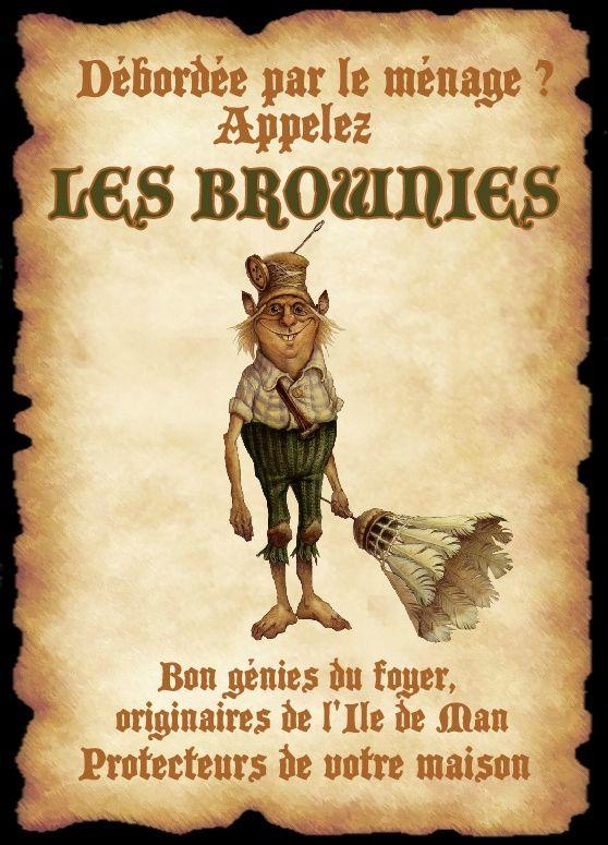 affiche brownie