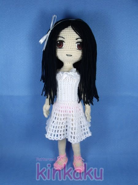 Anime Crochet Doll.