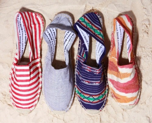 Espadrilles from Soludos - These are the perfect Summer casual shoe for blue jeans and a white shirt
