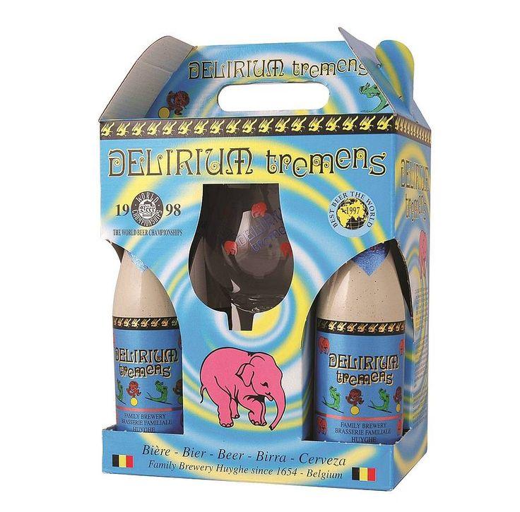 Delirium Tremens Belgian Beer Gift