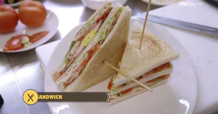 Leggi la ricetta del club sandwich di Antonino Cannavacciuolo: un procedimento che segue i passaggi della tradizione americana, ma mostra qualche chicca in più