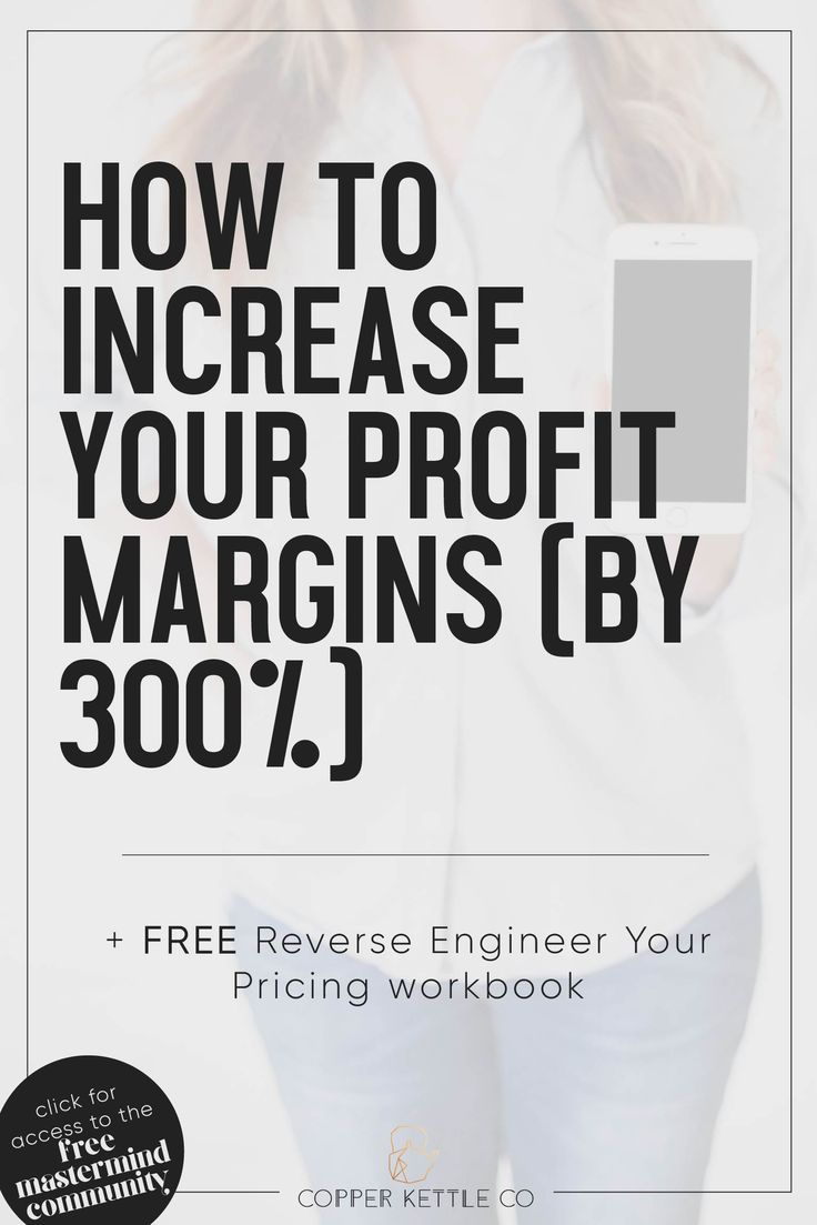 How To Increase Your Profit Margins In Creative Small Business