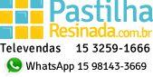 PASTILHAS ADESIVAS RESINADAS