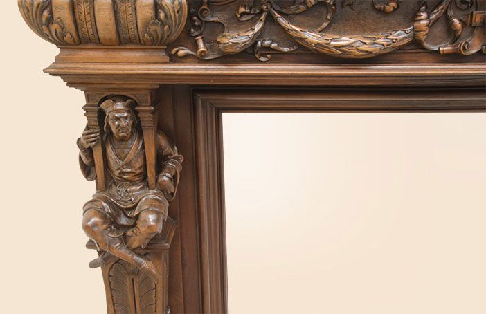 «BersoАнтик» - Каминный портал Генрих II